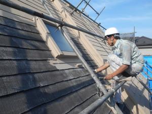 屋根塗装事例三興価格単価