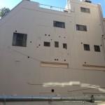 港区大門外壁塗装施工後