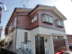 横浜市鶴見外壁塗装施工後